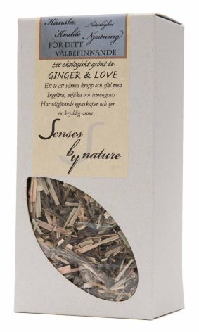 Te Ginger & Love Senses by nature