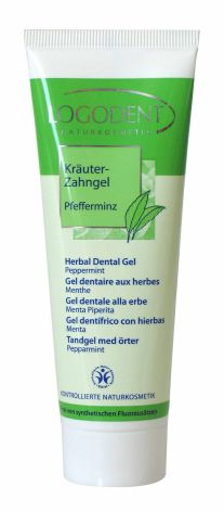 Tandkräm gel pepparmint 75 ml