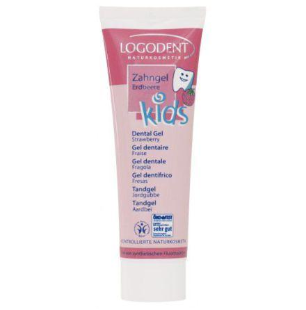 Tandkräm Kids jordgubb 50 ml